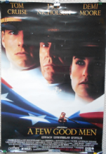 Few Good Men, Original Movie Poster, Tom Cruise, Jack Nicholson, Demi Moore, '92